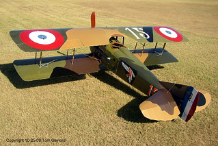 SPAD XIII Full Size Replica Built By Roger Freeman | by thegreatlandoni