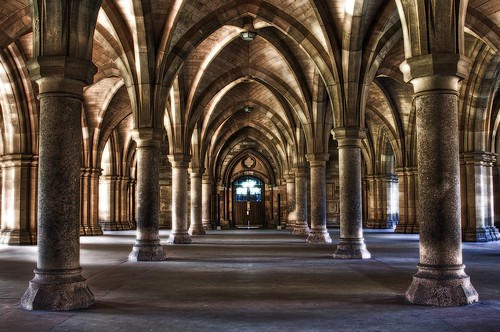 Cloister, Glasgow University | by _skynet