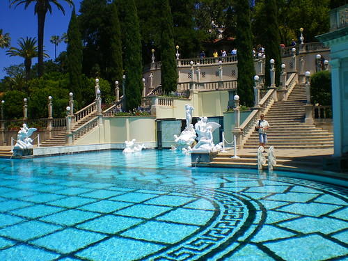 Hearst Castle Outdoor Pool! | by medaibl