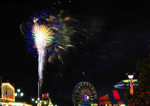 2009 NC State Fair - Fireworks3 | by johnmkirchner