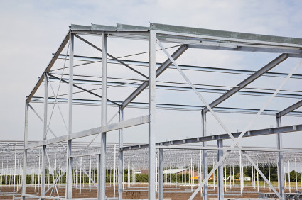 how to build a metal or steel greenhouse frame by segurabutch