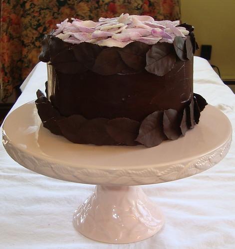 Dark Chocolate Cake With Mayonnaise Recipe