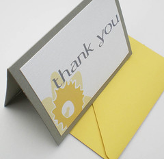 Daffodil Thank You Card | by P.S. Paper Goods