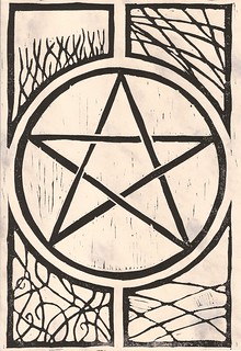 Pentagram 1 on parchment | by Eithin