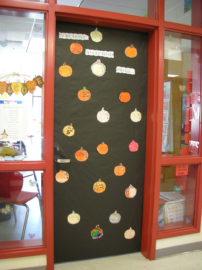 Old Door Decorating Door Decorations For Red Ribbon Week 21 Reasons To Say No Flickr