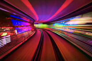 Disney - A Ride On The TTA at Night (Explored) | by Express Monorail