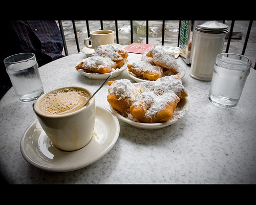 Coffee with Beignet's @ Cafe Du Monde | by and[w]