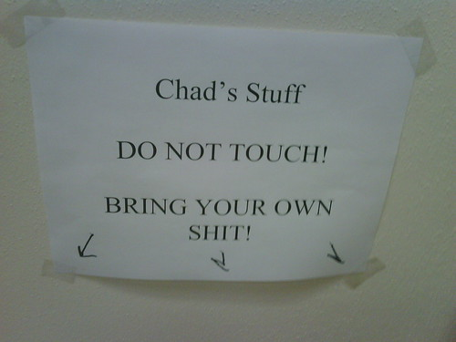 Chad's pile of shit | by passiveaggressivenotes