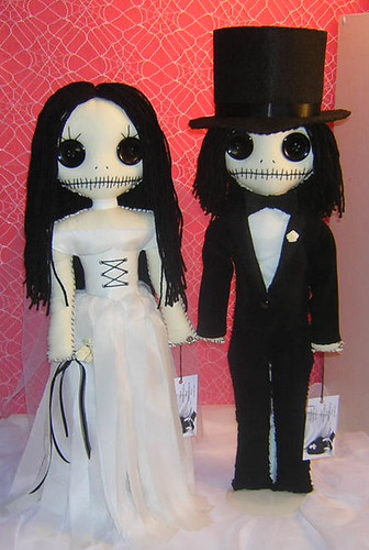 Calaveras | by Tattered Rags Creepy Rag Dolls