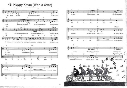 by yoko ono official happy xmas war is over by yoko ono official