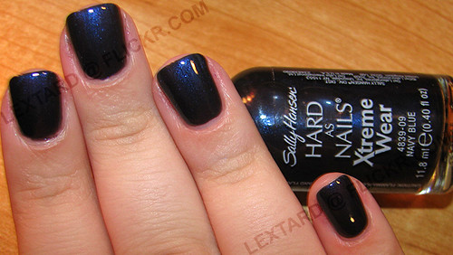 Sally Hansen Hard As Nails Xtreme Wear - Navy Blue | Flickr