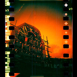 Blackbird Fly Camera with Lomo Redscale Film | by Patrick Ng