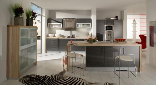 Cocina antracita metalizado cocina antracita metalizado - Singular kitchen valencia ...