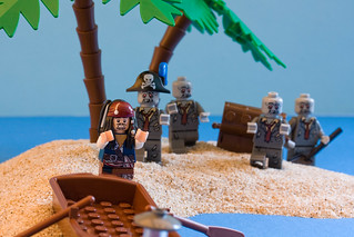 Lego Captain Jack Sparrow and the wrong zombies | by Sad Old Biker