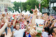 EURO 08 (#5) - Croatian fans in fanzone | by Shiratski