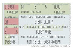 Bobby Vans Steak Club 7 Ticket | by steakclubseven