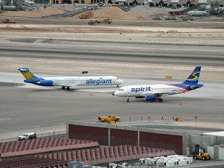 Allegiant/Spirit Doh Se Doh - McCarran International Airport - Las Vegas, NV | by tossmeanote