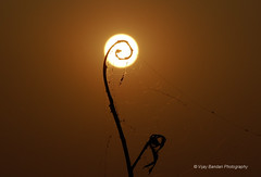 Sunset @ Gandipet | by Vijay Bandari - Moved to other account