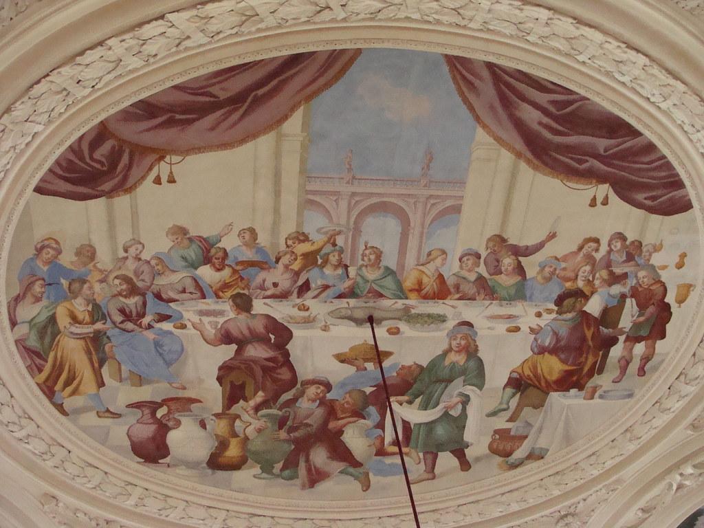 Hochzeit Von Kana Kaisersaal Corvey Darstellung Der Biblis Flickr