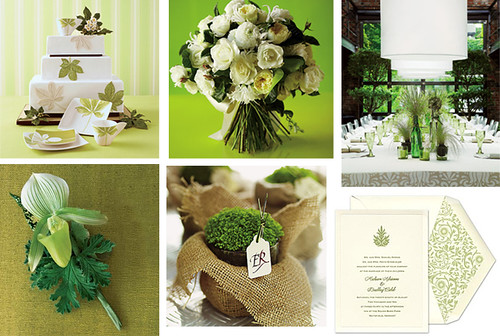 Green Leaves Fall Wedding | by Tastefully Entertaining