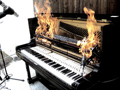 Diego Stocco Burning Piano 1 | by Diego Stocco