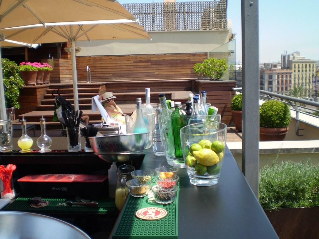 Relax Absoluto En Terraza Hotel Duquesa De Cardona Barcelo
