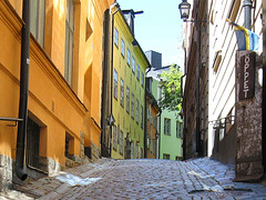 Stockholm - Old Town, Street, Gamla Stan | by Olof S