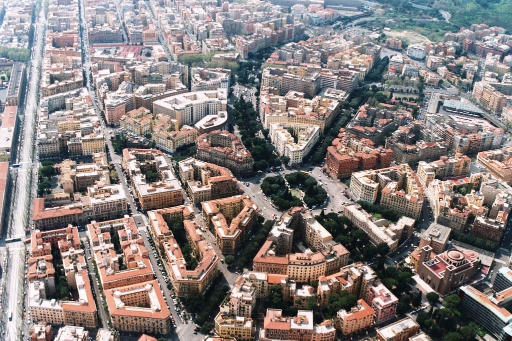 ... Volo Su Roma: Piazza Mazzini | By Agennari