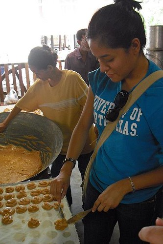 Zeyla making candy | by University of North Texas