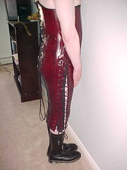 Full length heavy punishment corset | by greenwellies