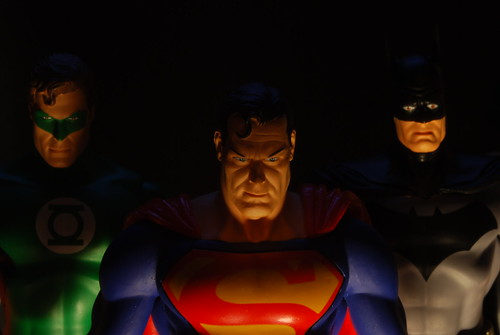 Green Lantern, Superman & Mr Bats himself | by rebelwithcauses