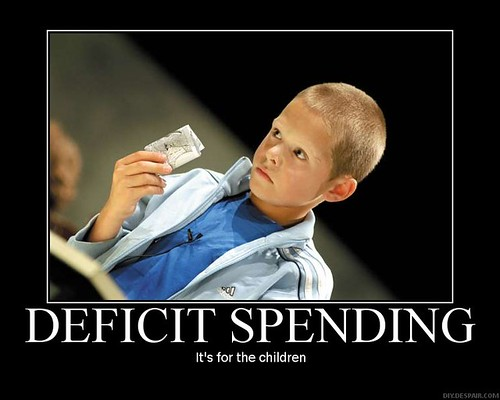 Deficit Spending | by xampl9