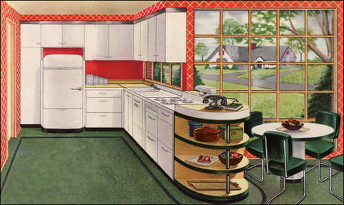 1944 Hotpoint Kitchen Ad | by American Vintage Home