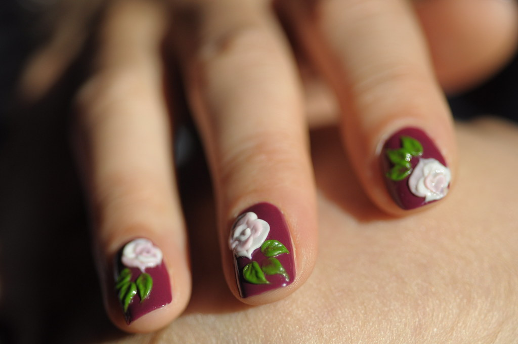 Russian Nail Art Russian Nail Art Dan Aron Riesen Flickr