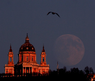 The Moon, the Basilica and the Bird | by Stefano De Rosa
