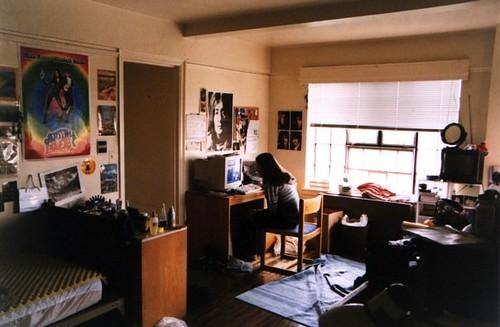 nyu dorm room, freshman year | photo by nate, 2000 | nora | Flickr