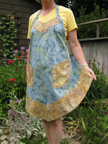 Butterick 4945 apron | by denise sews