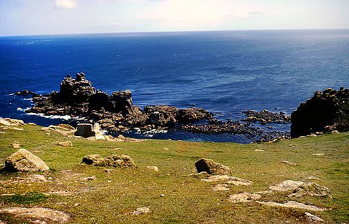 Lands End : Cornwall : England 1989 | by norbet1
