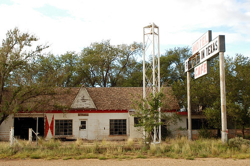 First & Last Gas in Texas - Glenrio on Old Rte 66 | by ap0013