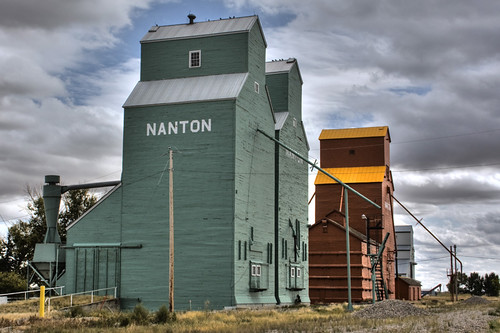 Nanton Grain Elevators | by sminky_pinky100 (In and Out)