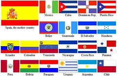 Flags of Spanish Speaking countries | jimbojambo1 | Flickr