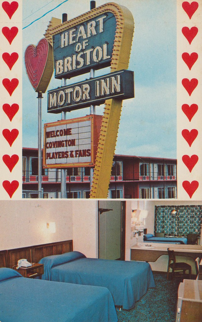 Heart of Bristol Motel - Bristol, Virginia