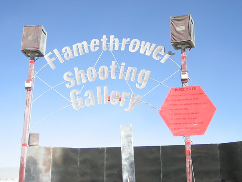 Flamethrower Shooting Gallery | by tnporter