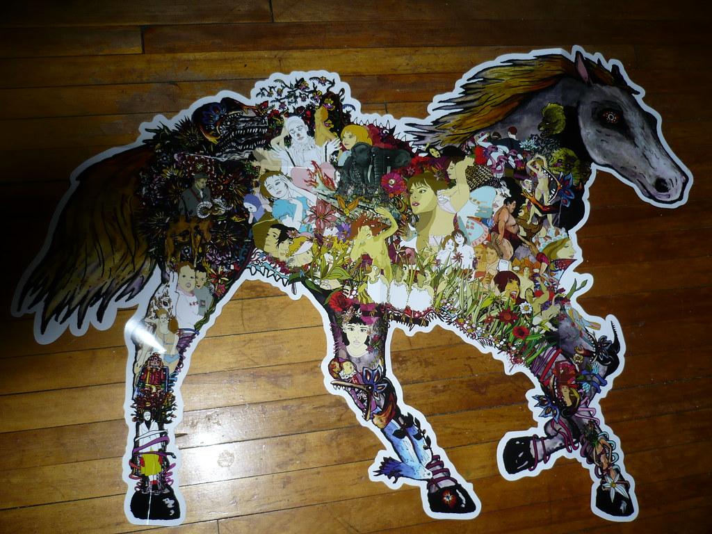 ... Die Cut Horse Poster By David Barnes U0026 Gemini Tactics   By Jacob Earl