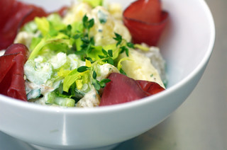 Potato Salad with Horseradish & Bresaola | by sassyradish
