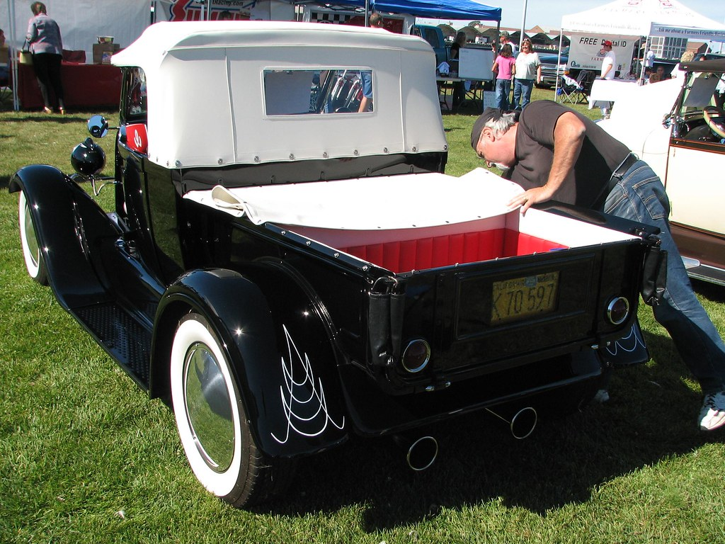 1928 Ford \'Black Widow 2\' Roadster Pickup Hot Rod (Monogra… | Flickr