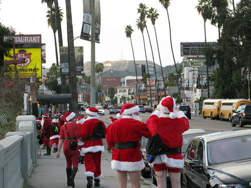 Santas wear short shorts | by Caroline on Crack