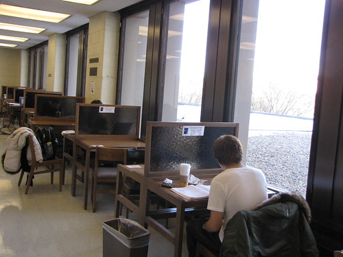 ET2 study carrels | by Herman B Wells Library