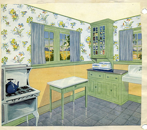 Vintage 1920 Kitchen Found This In An Old Scrapbook For