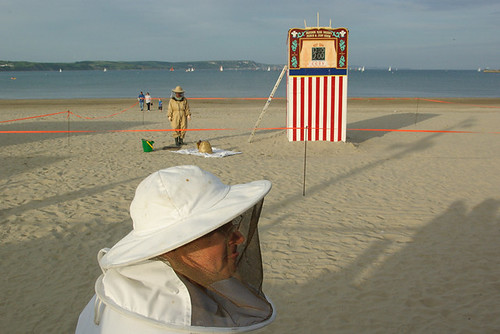 Bees vs Punch & Judy III | by Paul Russell99